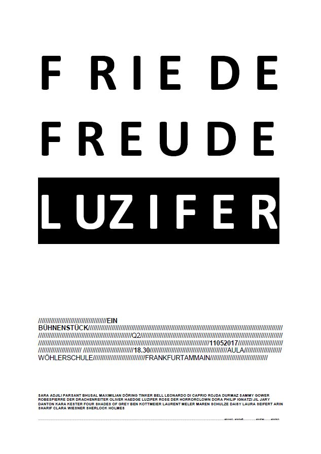 Friede Freude Luzifer